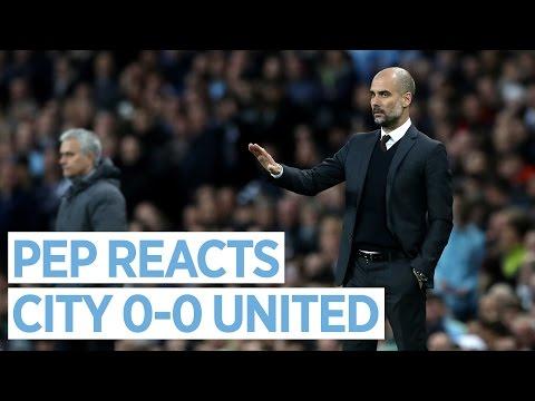 Guardiola Press Conference | Man City 0-0 Man United