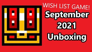 Retro Game Treasure September 2021 Unboxing WISH LIST GAME! Is It Worth It?
