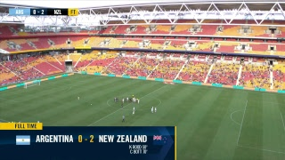 International Women's Football: Cup of Nations - New Zealand v Argentina