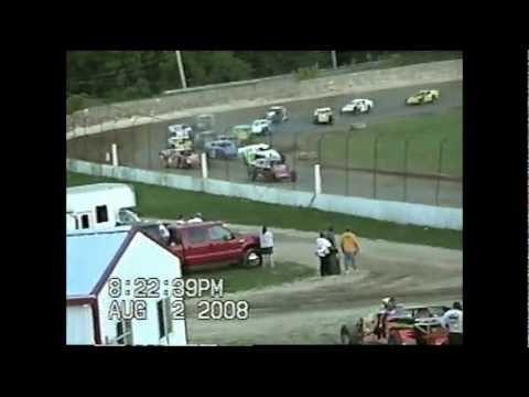 2008 Freeport Raceway Park modified dirt racing feature