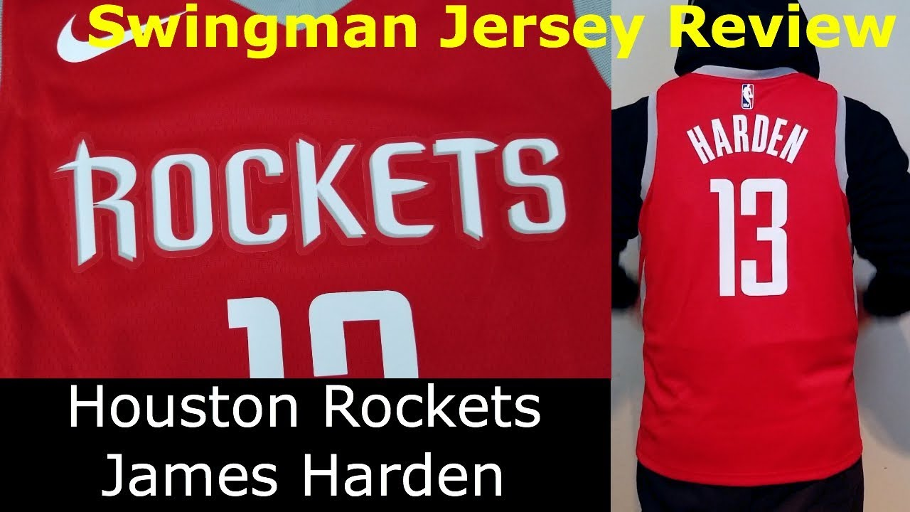 best authentic 6c55d 7fe07 MVP James Harden Nike Houston Rockets Icon Edition Jersey Review