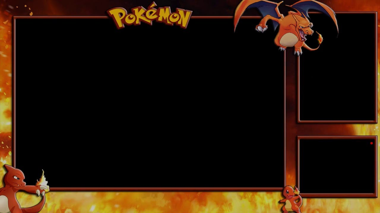 Free Twitch Overlay Template Pokemon Fire Edition Youtube