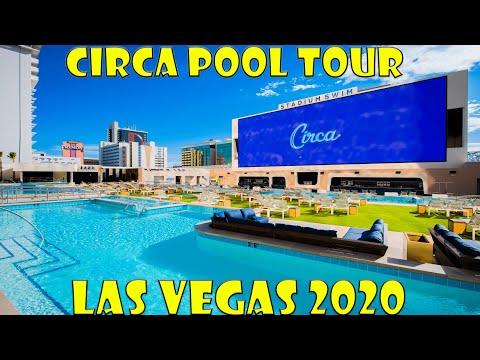 Circa Las Vegas Stadium Swim   1st Stadium Swim Football Viewing Party