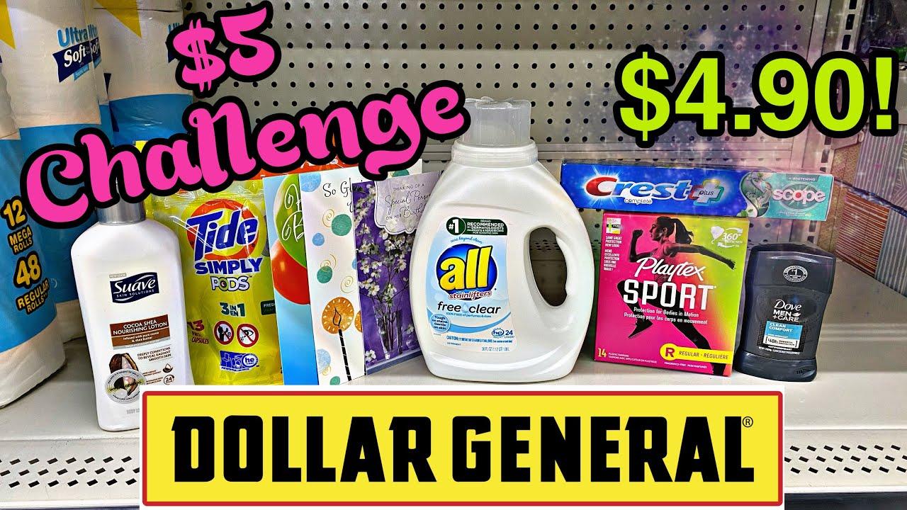 Dollar General $5 Challenge! 11/29-12/5/2020