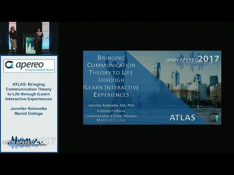 ATLAS: Bringing Communication Theory to Life through iLearn Interactive Experiences