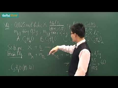 Bảo toàn khối lượng trong các bài toán hữu cơ 1