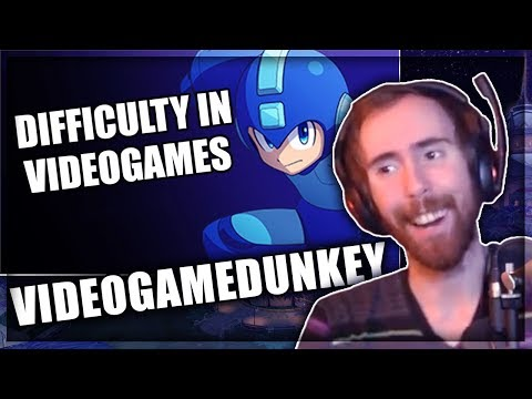 Asmongold Reacts to 'Difficulty in Videogames' Parts 1 and 2 by Videogamedunkey