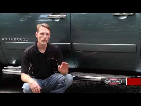 Toyota Tundra Diesel Review - Chevy Silverado Running Boards Review - Ionic Voyager - AutoCustoms.com