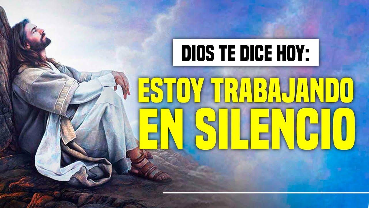 "@DIOS TE DICE HOY: ""𝗦𝗜 𝗡𝗢 𝗘𝗦𝗖𝗨𝗖𝗛𝗔𝗦 𝗠𝗜 𝗩𝗢𝗭 𝗘𝗦 𝗣𝗢𝗥𝗤𝗨𝗘 𝗘𝗦𝗧𝗢𝗬 𝗧𝗥𝗔𝗕𝗔𝗝𝗔𝗡𝗗𝗢 𝗘𝗡 𝗦𝗜𝗟𝗘𝗡𝗖𝗜𝗢 𝗔 𝗧𝗨 𝗙𝗔𝗩𝗢𝗥"" 😇"