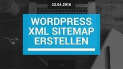 Wordpress Sitemap erstellen -  schnell und einfach (deutsch/german)