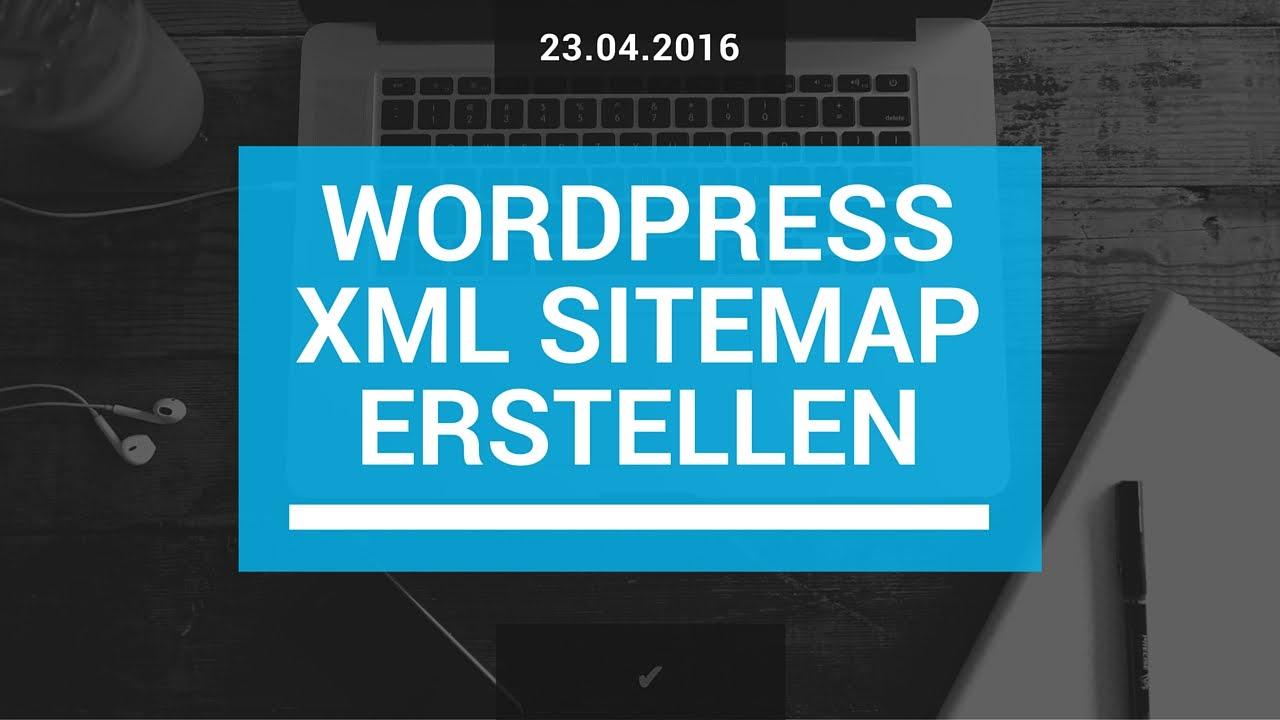 wordpress sitemap erstellen schnell und einfach deutsch german