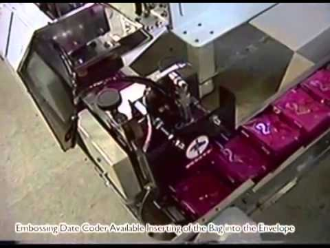 WONJI   pyramid tea pack packing machine.Made in South-Korea