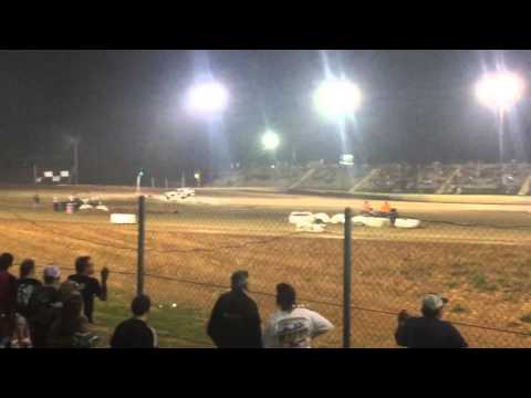 Brad Calhoun Dirt Track Racing 5/7/16 SS