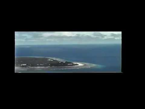 Landing on Falalop, Ulithi, Micronesia