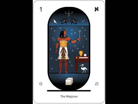⚡️ Arcanum 1⚡️ The Magician ⚡️ Tarot & Alchemy And Kabbalah