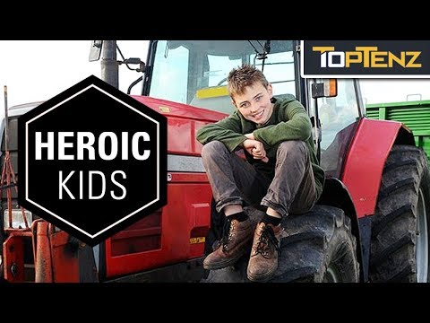 10 Kids More Heroic Than Most Adults