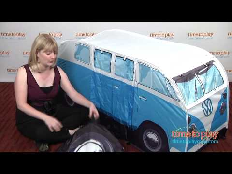 VW C&er Van Play Tent from The Monster Factory  sc 1 st  YouTube & VW Camper Van Play Tent from The Monster Factory - YouTube