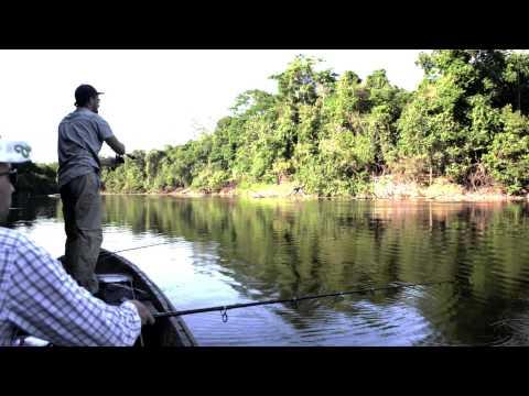 ARAPAIMA FISHING - AMAZON - ANDREES EXPEDITION