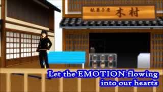 【MMD銀魂/GinTama FREE! ED Parody】SPLASH FREE! 【English Sub】