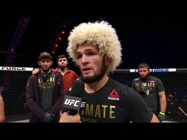 Khabib Nurmagomedov Announces Retirement | UFC 254