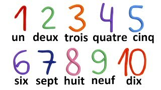 Счёт до 10 на французском языке