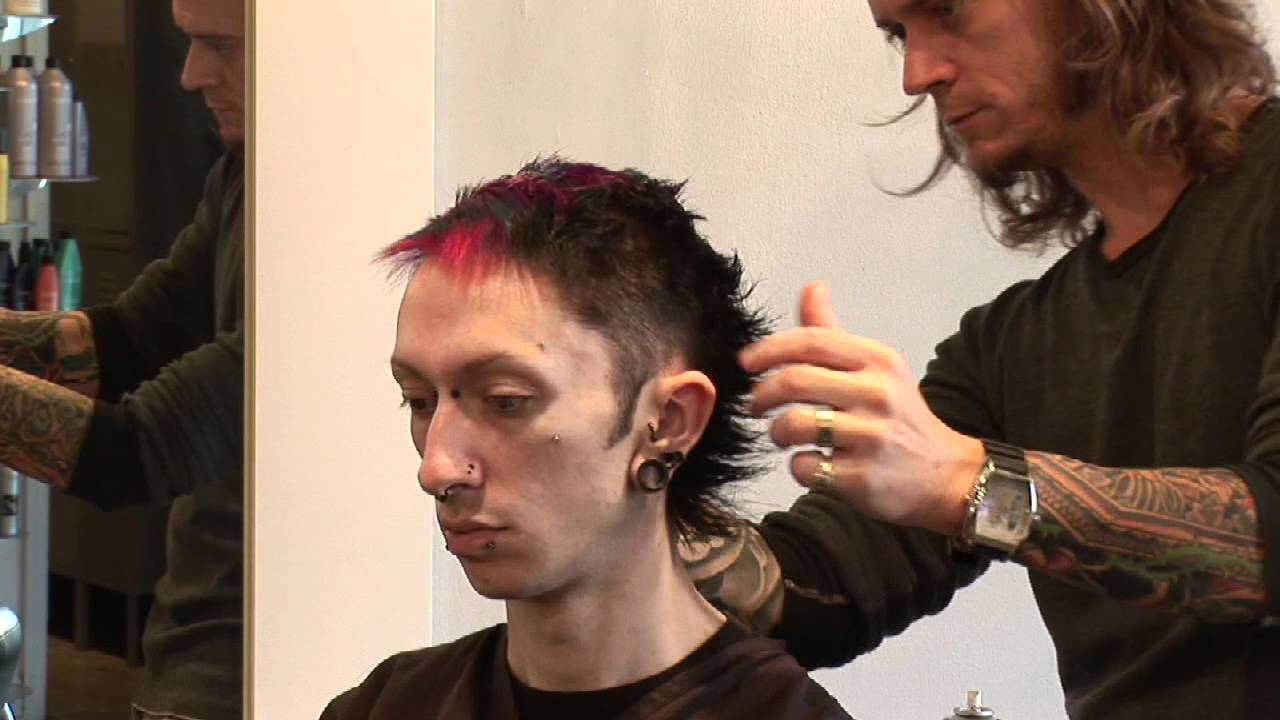 hair care advice for men : punk rocker hairstyles for men