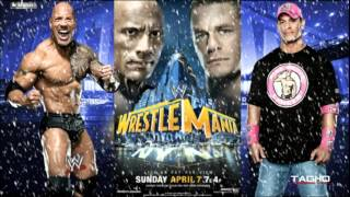 "2013: WWE Wrestlemania XXIX Cena Vs Rock II Promo Theme Song   ""Letters From The Sky"""