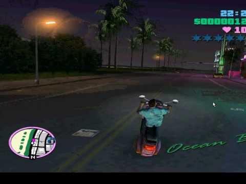 Bốc đầu Vice City Gà :(((