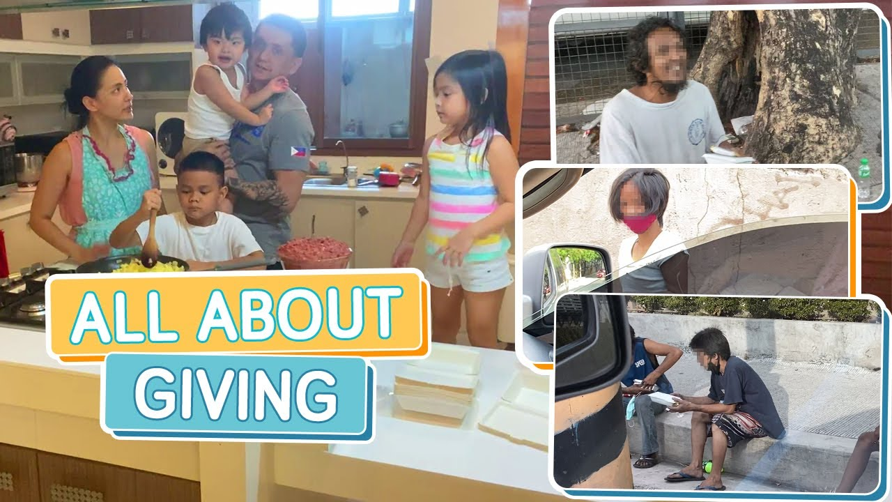 A LESSON IN GIVING: PEOPLE IN NEED DURING QUARANTINE - Alapag Family Fun