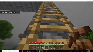 Minecraft - 2 Chunk (Berlin Wall Challenge) story time i guess