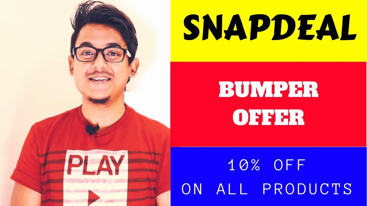 8c3aa6e131b Shopping Hack - Snapdeal Promo Codes ...