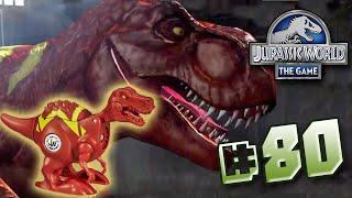 T.REX BRAWLASAURS! || Jurassic World - The Game - Ep 80 HD