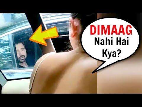 Anushka Sharma Gets ANGRY & SHOUTS On A Man Littering On Street