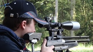Field Target: Midland Summer Series Round 4 at Greyhound FTC-2014
