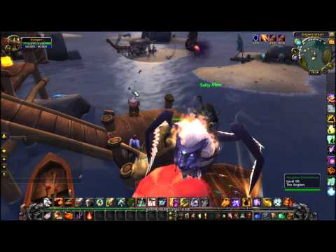Mists Of Pandaria Fishing Faction The Anglers Feat. Nat Pagle