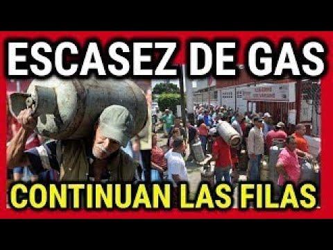 ULTIMA HORA VENEZUELA, LARGAS FILAS POR GAS EN VENEZUELA, ULTIMAS NOTICIAS #VENEZUELA 28/1