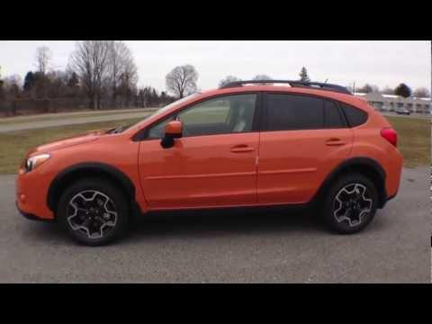 2013 Tangerine Orange Subaru Xv Crosstrek Ruge S Subaru