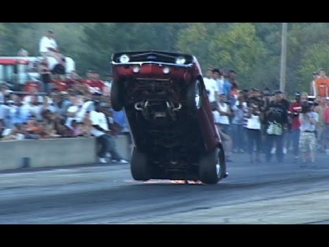 INSANE Drag Wheelstand Competition - TBT Byron Dragway