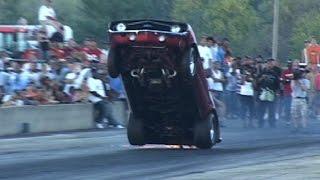 INSANE Drag Wheelstand Competition TBT Byron Dragway