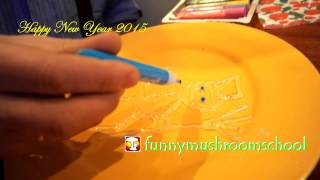 видео Витраж на силиконе