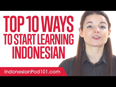 Top 10 Ways to Start Learning Indonesian