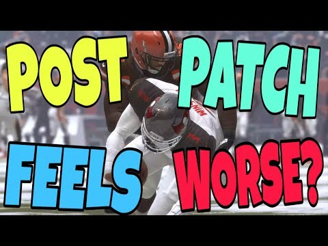 FIRST POST PATCH GAMEPLAY WAS A DISASTER! WHAT GOT PATCHED & WHAT NEEDS TO BE FIXED IN MADDEN 19 MUT - 동영상