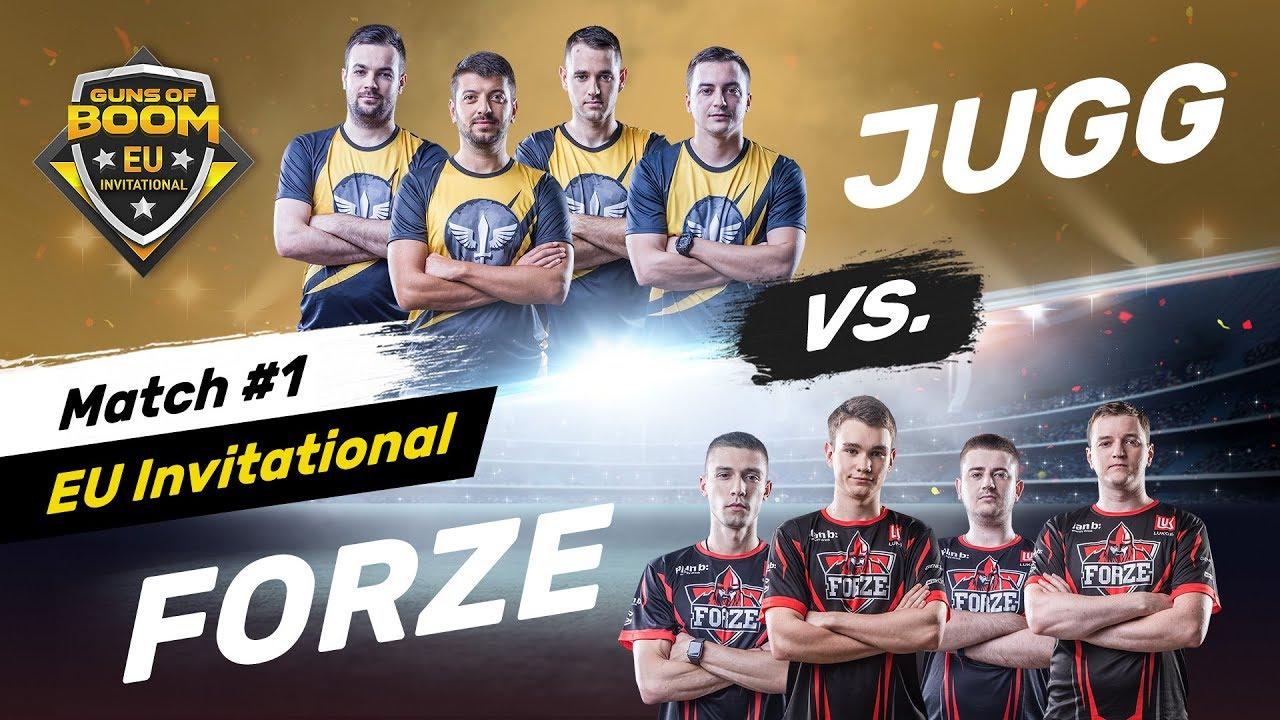 JUGG vs FORZE - Initial Match #1 - EU Invitational