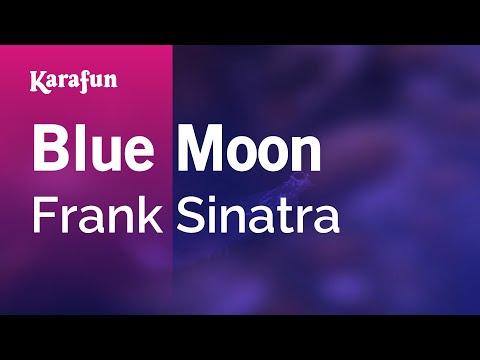 Karaoke Blue Moon - Frank Sinatra *
