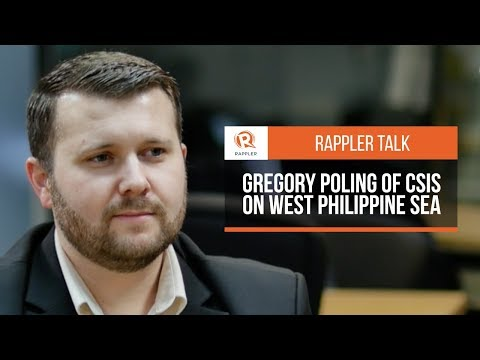 Rappler Talk: Gregory Poling of CSIS on West Philippine Sea