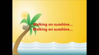 Katrina & The Waves- Walking on Sunshine Lyrics
