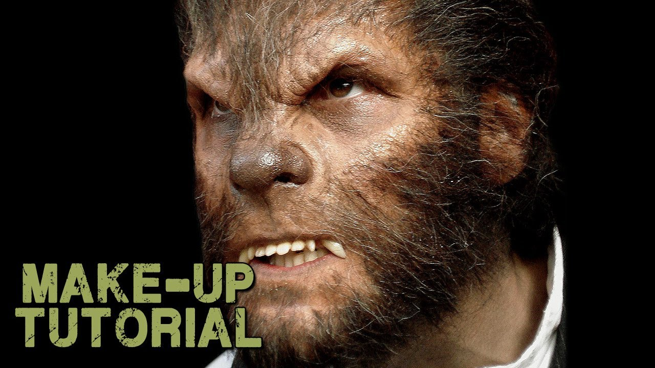 Werewolf Transformation Makeup - How to Apply Wolfman Prosthetics ...