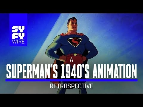 Superman's 1940s Animation: How It Changed Everything (A Look Back)   SYFY WIRE