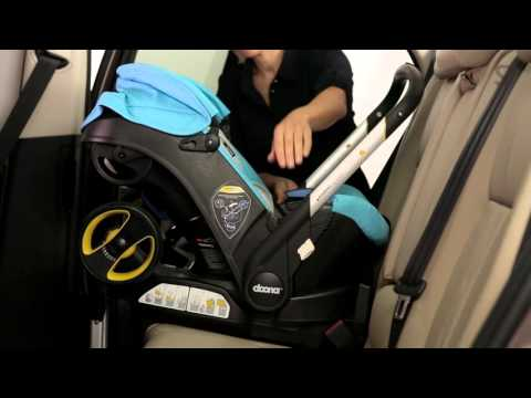 Removing Doona from ISOFIX Base- European Standard - YouTube