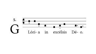 Missa VIII (de Angelis): Gloria - Gregorian Chant
